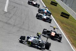 Jimmy Eriksson, Koiranen GP devant Luca Ghiotto, Trident