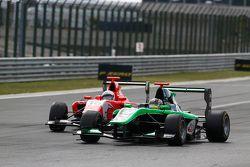 Sandy Stuvik, Status Grand Prix devant Aleksander Bosak, Arden International