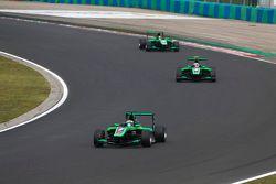 Seb Morris, Status Grand Prix, Alex Fontana, Status Grand Prix & Sandy Stuvik, Status Grand Prix