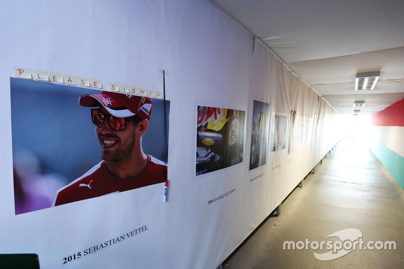 Себастьян Феттель, Ferrari доданий до стіни переможців