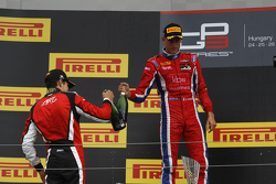 Esteban Ocon, ART Grand Prix and Kevin Ceccon, Arden International
