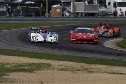 #8 Starworks Motorsport ORECA FLM09: Renger van der Zande, Mirco Schultis and #63 Scuderia Corsa Fer