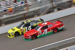 Cale Conley, TriStar Motorsports Toyota and Ross Chastain, JD Motorsports Chevrolet