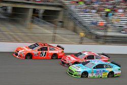 Джастин Алгайер, HScott Motorsports Chevrolet, Остин Диллон, Richard Childress Racing Chevrolet и Ра