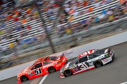 Джастин Алгайер, HScott Motorsports Chevrolet и Райан Ньюман, Richard Childress Racing Chevrolet