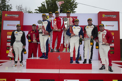 Class podium finishers