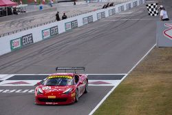 #77 Ferrari Quebec Ferrari 458TP: Emmanuel Anassis takes the win
