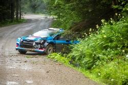 Алексей Лукьянюк, Ford Fiesta, авария