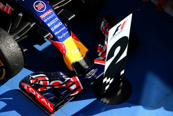 The car of Daniil Kvyat, Red Bull Racing