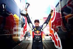 Second place Daniil Kvyat, Red Bull Racing