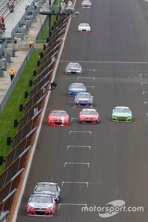 Acción en la carrera