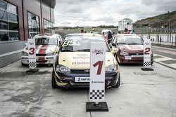 Машины первой тройки победителей