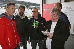 Andre Lotterer, Audi Sport Team Joest avec Laurent Mercier, Endurance-Info.com