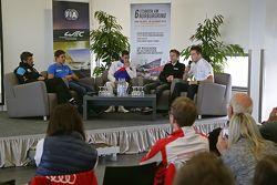 Patrick Dempsey, Oliver Jarvis, Sébastien Buemi, Timo Bernhard, Andre Lotterer