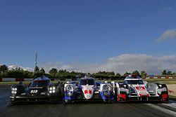 Porsche 919 Hibrit Takımı, Toyota Racing TS040 Hybrid, Audi Sport - Takım: Joest R18 e-tron quattro