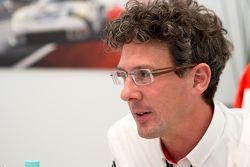 Dr. Frank-Steffen Walliser, jefe del equipo de Porsche