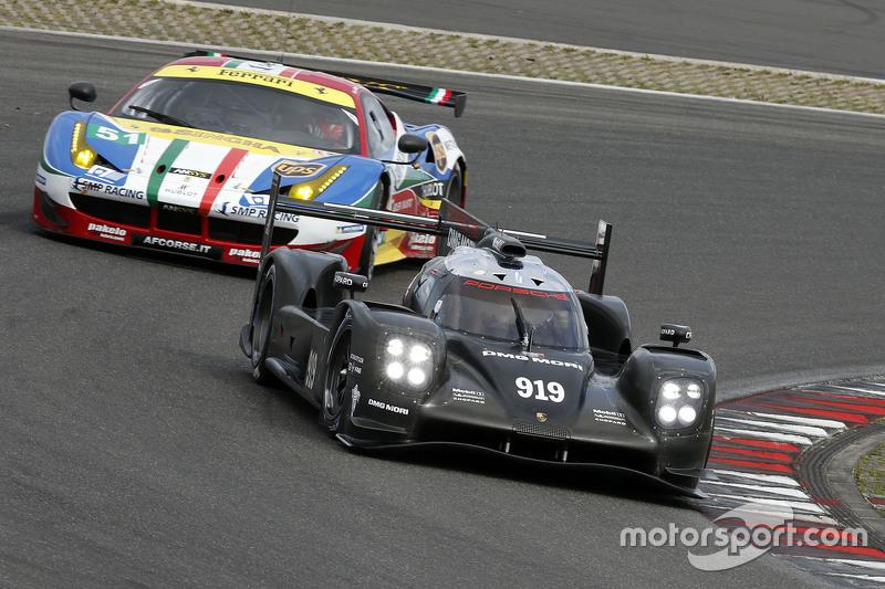 Porsche Team 919 Hybrid testing