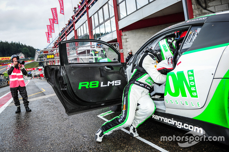 Team Parker Racing Audi R LMS Ultra Ian Loggie Julian Westwood - Parker audi