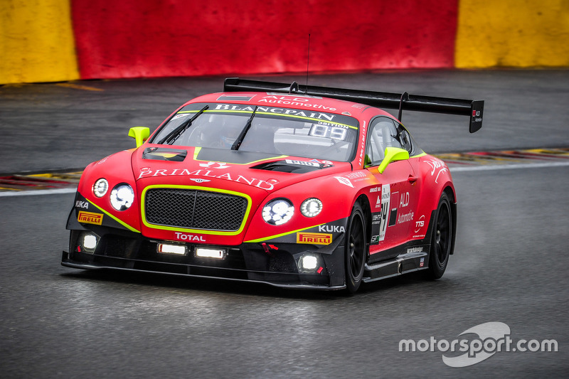 #84 Bentley Team HTP Bentley Continental GT3: Harold Primat, Вінсент Апріл, Mike Parisy