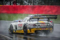 #98 Rowe Mercedes SLS AMG GT3 Astana Takımı: Nicolai Sylvest, Indy Dontje, Thomas Jäger