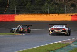 #35 Sainteloc Racing Audi R8 LMS Ultra: Edward Sandström, Marc Basseng, Grégory Guilvert