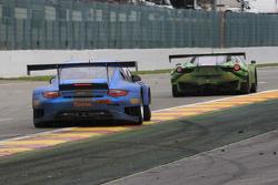 #56 Attempto Racing Porsche 997 GT3 R: Jürgen Häring, Dimitrios Konstantinou, Frank Schmickler