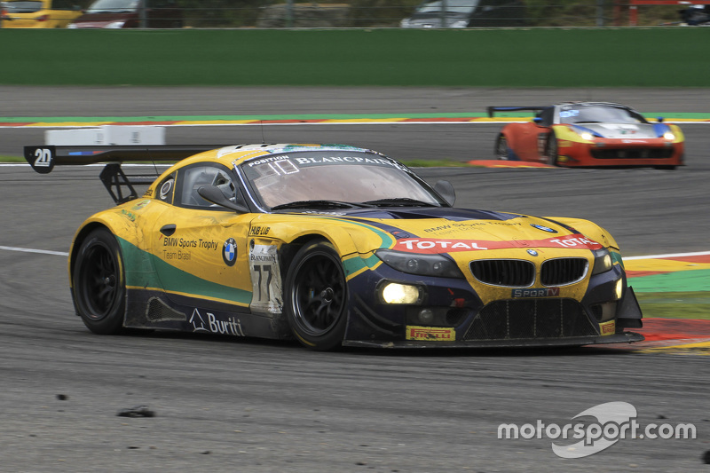 #77 BMW Sports Trophy Team Brasil BMW Z4: Sergio Jimenez, Felipe Fraga, Caca Bueno