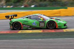 #333 Rinaldi Racing Ferrari 458 Italia: Marco Seefried, Norbert Siedler, Stephan van Campenhoudt, Ri