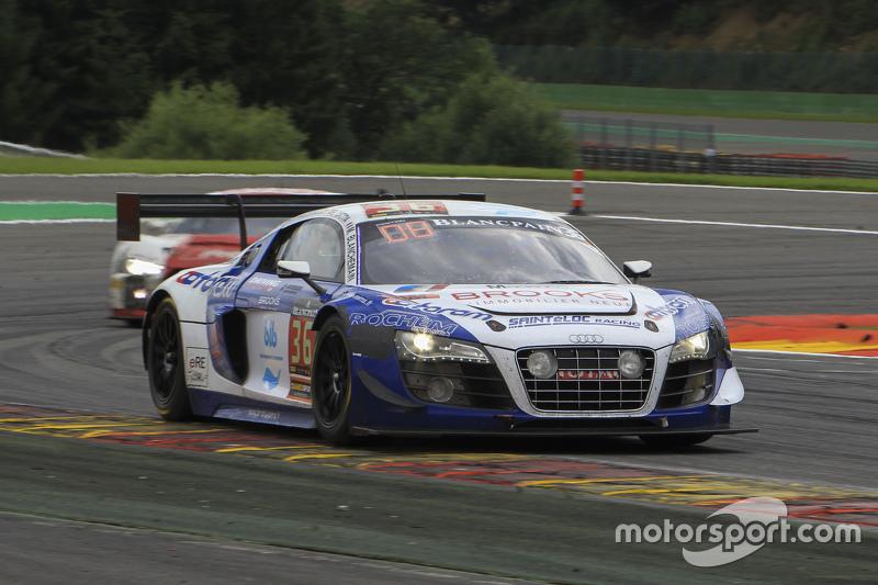 #36 Sainteloc Racing Audi R8 LMS Ultra: Mickael Blanchemain, Gilles Lallement, Philippe Haezebrouck