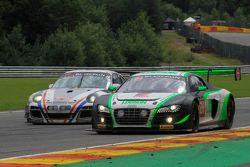 #24 Team Parker Racing Audi R8 LMS Ultra: Ian Loggie, Julian Westwood, Benny Simonsen, Callum Macleod
