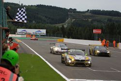 #46 Marc VDS Racing Team BMW Z4: Markus Palttala, Nicky Catsburg, Lucas Luhr takes the win