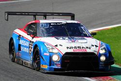 #22 Nissan GT Academy Team RJN Nissan GT-R Nismo GT3: Ricardo Sanchez, Gaëtan Paletou, Florian Strauss, Olivier Pla