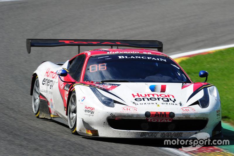 #47 AF Corse Ferrari 458 Italia: Stéphane Lemeret, Pasin Lathouras, Alessandro Pier Guidi, Gianmaria