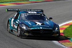#21 Black Falcon Mercedes SLS AMG GT3: Hubert Haupt, Abdulaziz Al Faisal, Yelmer Buurman