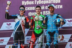 Подиум: Антон Ерёмин, Алексей Иванов, Сергей Крапухин