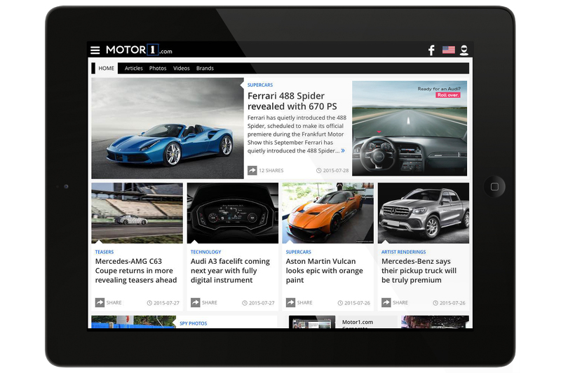 Motor1.com screen shot