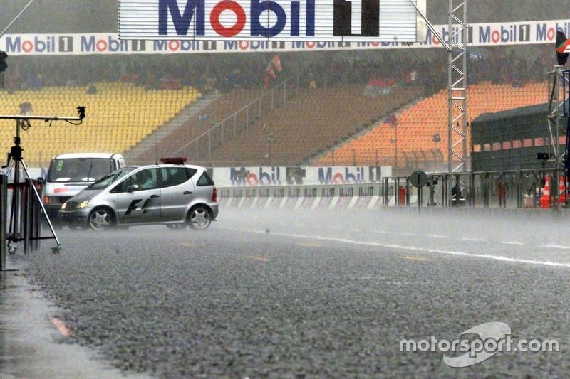 Friday practice rain