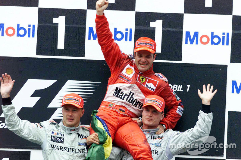Rubens Barrichello - 11 victorias