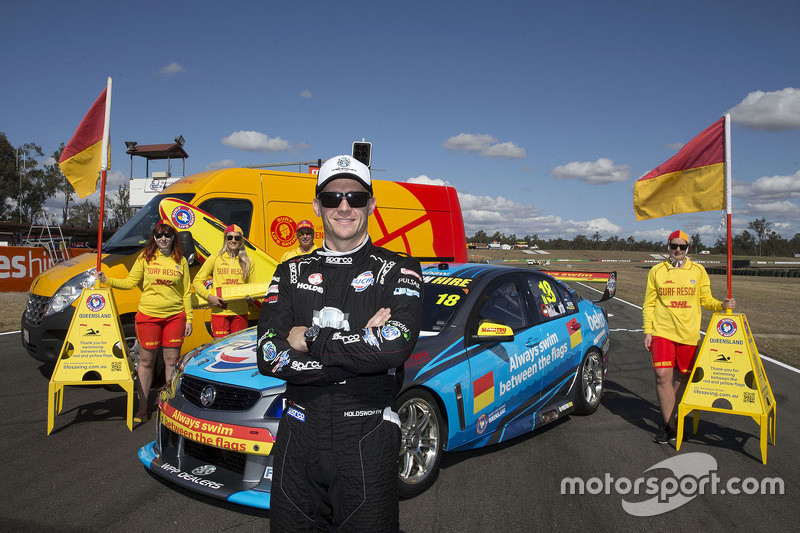 New livery for Lee Holdsworth