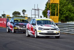 Volkswagen Vento Cup testing action