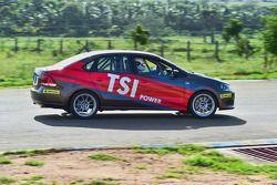 Volkswagen Vento Cup testing action