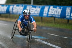 Alex Zanardi competes at the UCI Para-cycling World Championship