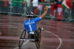 Alex Zanardi compite en el Campeonato del Mundo de Para-Ciclismo UCI