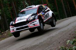Sander Parn and James Morgan, Ford Fiesta R5