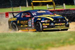 #35 Phoenix American Motorsports Ford Mustang Boss 302: Preston Calvert, sorun yaşıyor