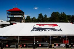 IndyCar tent