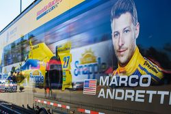 Le camion de Marco Andretti, Andretti Autosport Honda