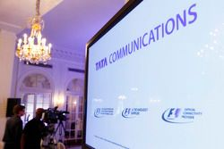 Tata Communications und Formel 1 Pressekonferenz