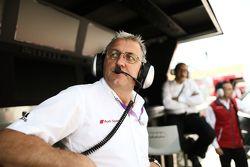 Эрнст Мозер, глава команды Audi Sport Team Phoenix