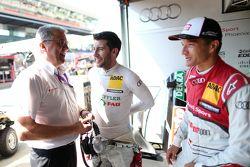 Эрнст Мозер, Майк Роккенфеллер и Тимо Шайдер, Audi Sport Team Phoenix Audi RS 5 DTM